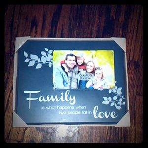 Family Love Picture Frame 4X6